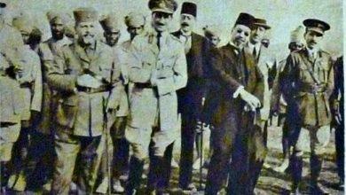 صورة دمشق 1919 – رضا الركابي ومحمد علي العابد