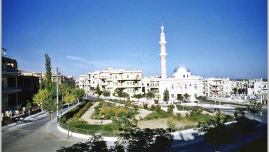 دمشق - ساحة الروضة عام 1950