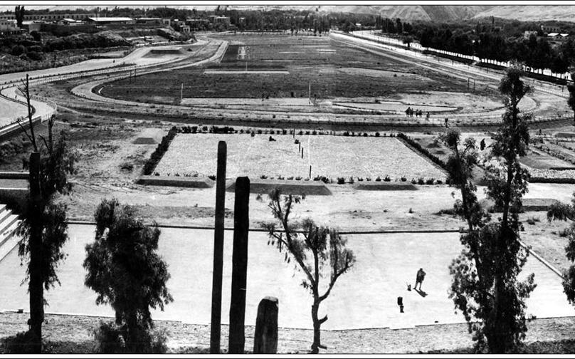 دمشق 1937 -الملعب البلدي أو مرج الحشيش