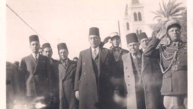 الرئيس شكري القوتلي في اللاذقية عام 1944