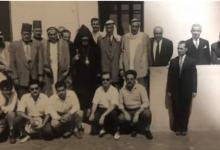 الرقة عام 1957 -  ثلة من آل العجيلي في حفل مصالحة الأرمن