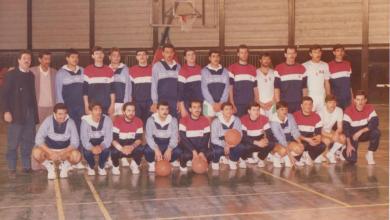 فريقا الوحدة السوري والأهلي الاردني عام 1986