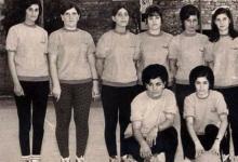 صورة أول فريق لنادي محردة لفئة السيدات عام 1968