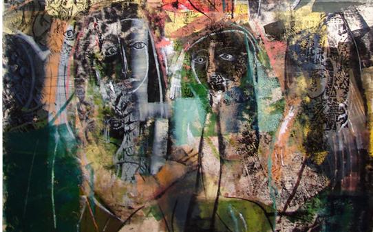 ظلال .. لوحة للفنان أحمد مادون