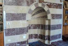 صورة دمشق – المدرسة المسمارية الحنبلية  – المحراب (5)
