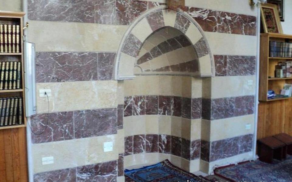 دمشق - المدرسة المسمارية الحنبلية  - المحراب (5)
