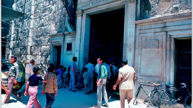صورة دمشق 1983 –  مدخل المسجد الأموي
