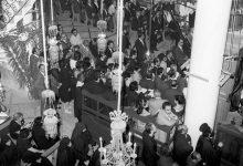 صورة مراسم تشييع البطريرك الياس معوض في المريمية (1)
