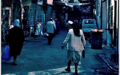 دمشق 1983 - محلة العقيبة .. حي العمارة ومسجد التوبة