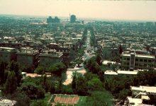 صورة دمشق 1983 – من مئذنة  مسجد الشيخ محي الدين