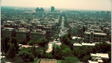 دمشق 1983 - من مئذنة  مسجد الشيخ محي الدين