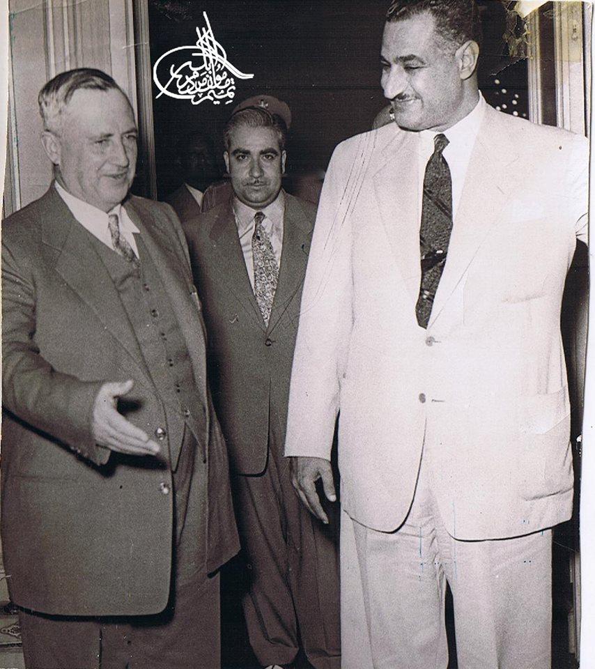 سعيد الغزي وجمال عبد الناصر