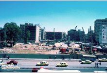 صورة دمشق 1983 – البحصة .. مشروع بناء مجمع يلبغا
