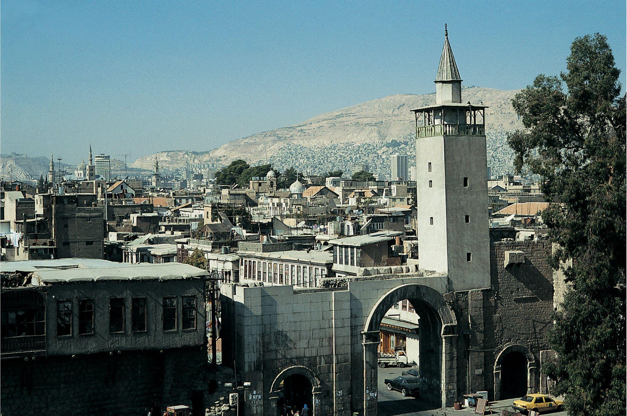 دمشق - باب شرقي في الثمانينيات