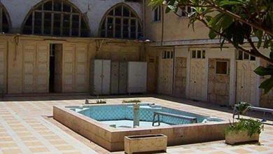 صورة دمشق  – صحن المدرسة البادرائية  (9)