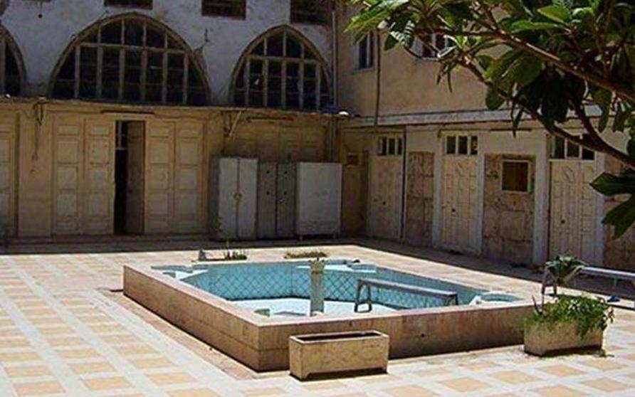 دمشق  – صحن المدرسة البادرائية  (9)