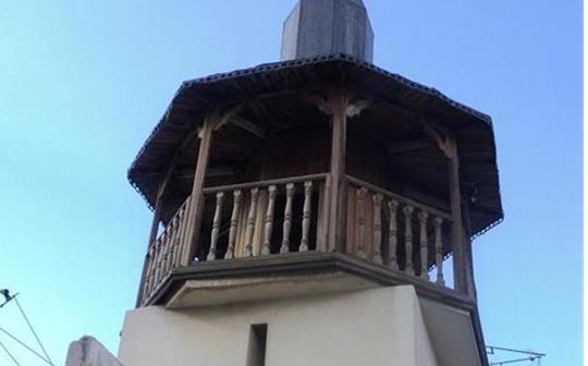 دمشق - المدرسة المسمارية الحنبلية  - المئذنة (4)