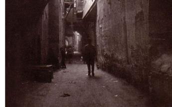 دمشق في الستينيات - الطريق الموازي لطريق المدرسة البادرائية