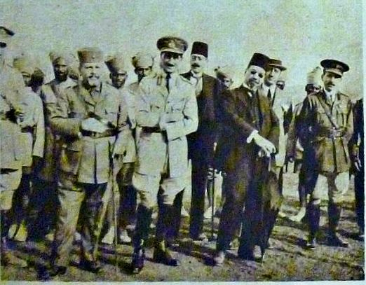 دمشق 1919 - رضا الركابي ومحمد علي العابد