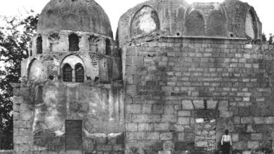 دمشق – الواجهة الشرقية للمدرسة الفروخشاهية والتربة الأمجدية (9)