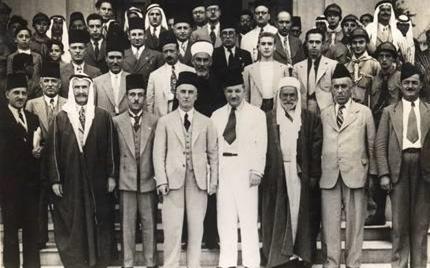 صورة المشاركون في مؤتمر بلودان الأول 1937