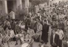 صورة مرمريتا 1977 – تدشين كنيسة القديس بندلايمن