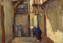 من لوحات ناظم الجعفري .. الشاغور 1956 (1)