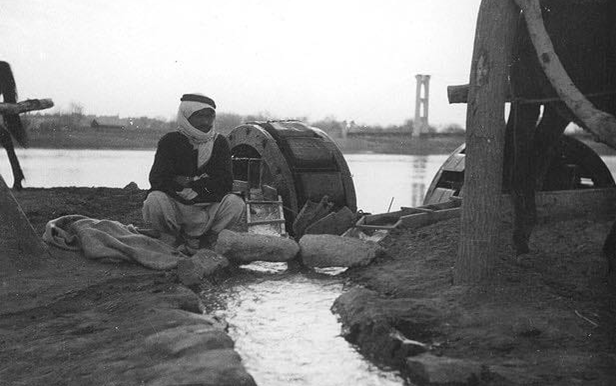 دير الزور 1930 -الحويقة والجسر المعلق