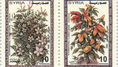 طوابع سورية 1999 - معرض الزهور