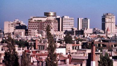 صورة دمشق 1989 – فندق الشام