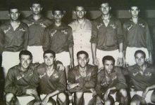 صورة فريق الجيش السوري لكرة السلة عام 1957
