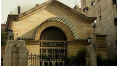 صورة كنيسة الملاك ميخائيل في حي العزيزية بحلب