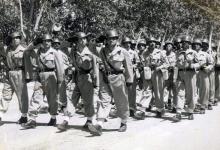 صورة دمشق 1955 – استعراض عسكري بمناسبة عيد الجلاء