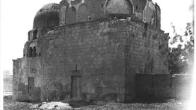دمشق – قبتا المدرسة الفروخشاهية والتربة الأمجدية 1908 (5)