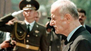 وفاة حافظ الأسد عام 2000