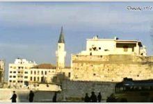 دمشق - مئذنة جامع تنكز في شارع النصر 1951