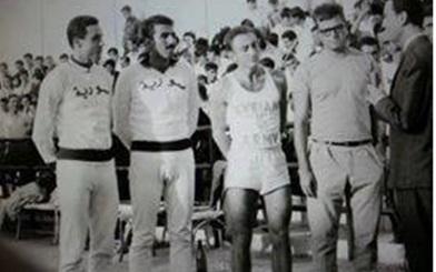 صورة دمشق 1966 –  نجوم المنتخب العسكري السوري في بطولة العالم العسكرية