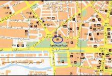 صورة دمشق – المدرسة الفروخشاهية .. الموقع والمخطط (1)