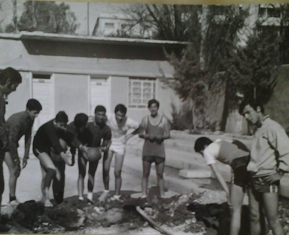دمشق 1971- نادي الغوطة قبل إشادة فندق الميريديان