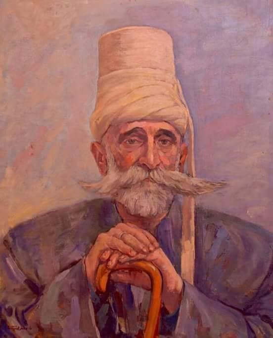 فنان سوري قديم.. من لوحات ناظم الجعفري (3)