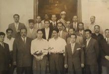 دمشق - رجال التحري والتعقيب أمام مدخل شعبة التحري عام 1955