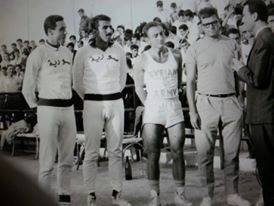 دمشق 1966 -  نجوم المنتخب العسكري السوري في بطولة العالم العسكرية