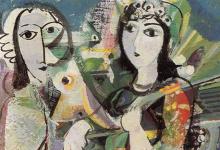 تكوين .. لوحة للفنان أحمد مادون