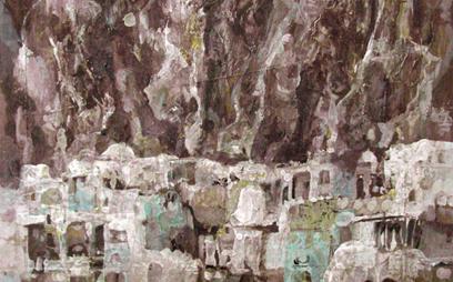 معلولا .. لوحة للفنان أحمد مادون (9)