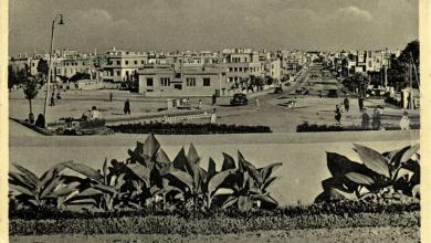 دمشق - شارع أبو رمانة في الأربعينيات