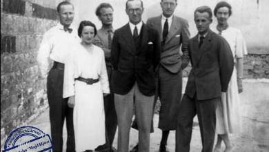 أعضاء البعثة الدانماركية التي عملت في قلعة حماة 1931 - 1938