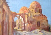 دمشق 1934 .. لوحة للفنان ميشيل كرشة (3)