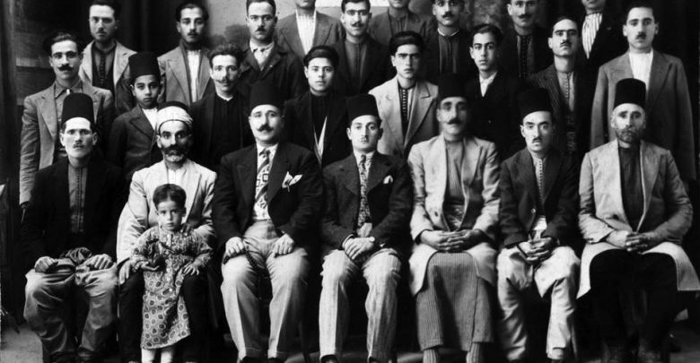 Photo of The first aid agency in the Al-Salheya district of Damascus – 1933