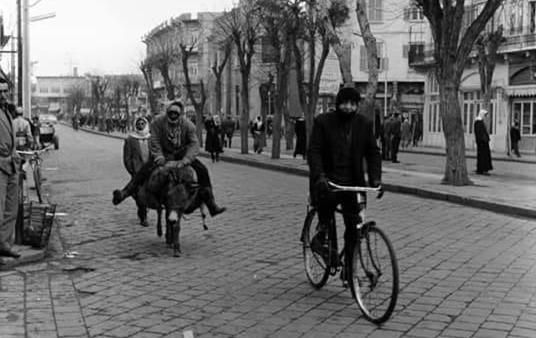 Photo of Homs 1964: Shukri al-Quwatli Street
