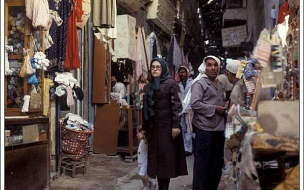 دمشق 1985- أول سوق الخياطين